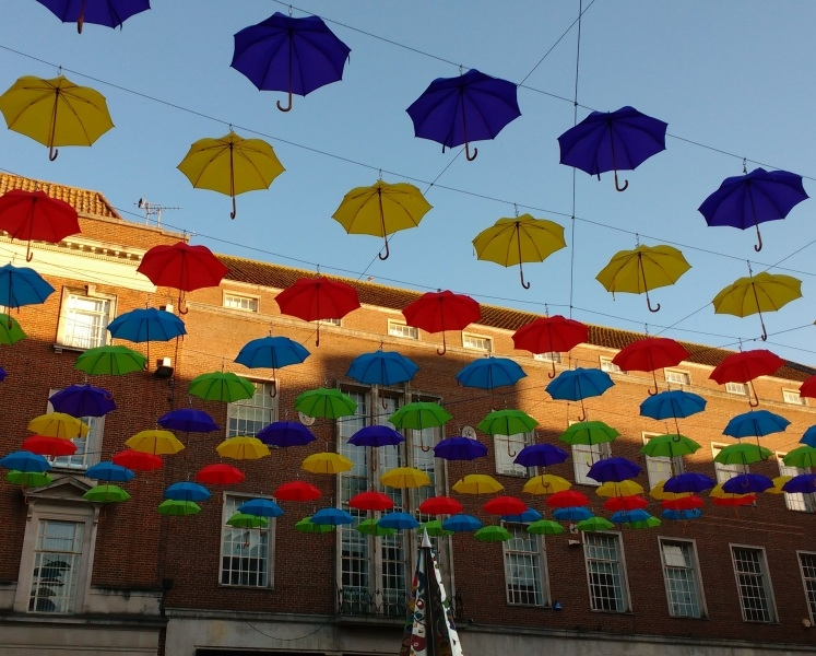 Exeter Umbrellas - High Street