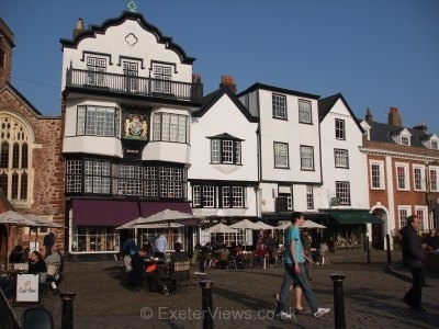 Exeter Cathedral Close
