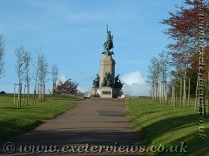 Northernhay Gardens - War Memorial