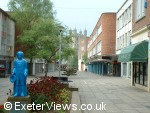 Old Princesshay - Blue Boy