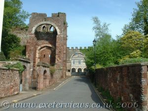 Exeter Rougemont Castle