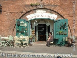 Exeter Quayside Craft Shops