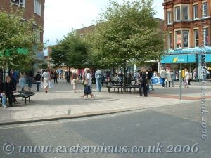South Street and Fore Street corner