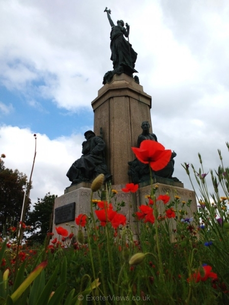 The Northernhay War Memorial