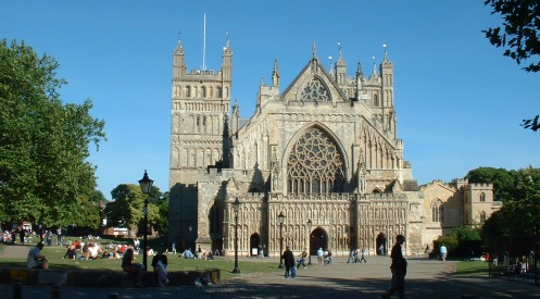 Guide To The City Of Exeter Devon Uk
