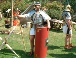 Exeter Roman Soldier