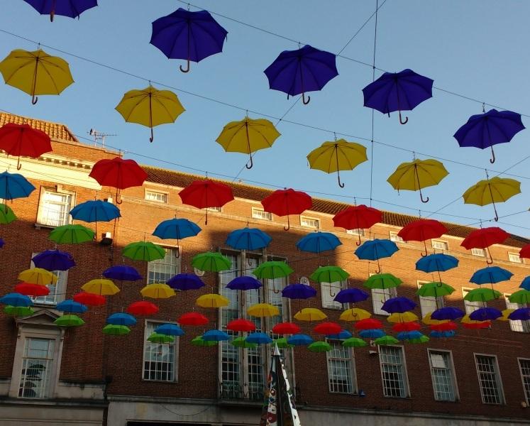Exeter Umbrellas - High Street