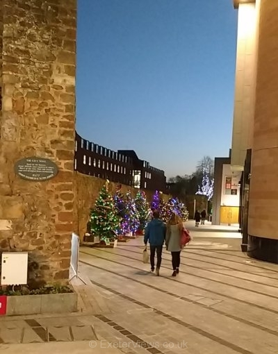 Christmas Trees on Roman Walk