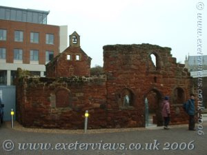 Exeter's St Catherine's Ruins